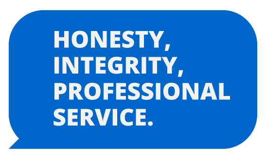 HONESTY INTEGRITY PROFESSIONAL